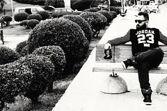 Kafa gitti, uur nemli deil de iinde hayaller vard. (cambazghettostar34) Tags: blackandwhite black beach car canon beard cool sony like handsome beards istanbul jordan hiphop ghetto supra glases sakal oldschooll