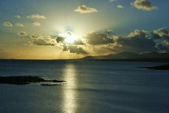 Sonnenaufgang in Arrecife (ugreeb2002) Tags: sea nature topf25 1025fav spain europa eu lanzarote colores spanien arrecife naturescenes wonderfulworld inspiredbylove voyagetravellingreise