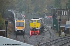 3001+3005 and 074 at Drogheda, 14/11/15 (hurricanemk1c) Tags: irish train gm rail railway trains enterprise railways caf irishrail drogheda nir 074 generalmotors 2015 emd 071 3001 iarnród éireann northernirelandrailways iarnródéireann class3000 c3k