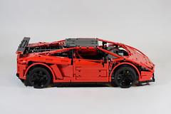 LEGO - Lamborghini Gallardo Super Trofeo Stradale (Fanylover) Tags: auto car nikon lego technic lamborghini supercar gallardo stradale scalemodel moc sportcar d3300 supertrofeo lp5704