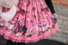 holy night story (jojoannabanana) Tags: pink skirt angelicpretty japaneselolitafashion holynightstory