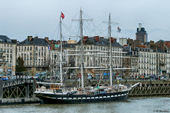 Le Belem (alexis boidron) Tags: 3 france boats boat tour bretagne belem bateau loire fosse quai nantes voilier fleuve wwb atlantique mts