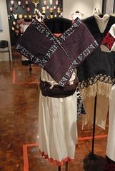 Otomi Textiles Hidallgo Mexico (Teyacapan) Tags: museum clothing mexican textiles ropa hidalgo otomi ixmiquilpan quechquemitl vallemezquital