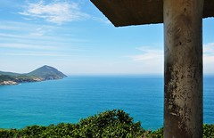 meu AMADO Brasil (Ruby Ferreira ®) Tags: brazil sky brasil clouds view hill céu nuvens atlanticocean oceanoatlântico montanhas arraialdocaborj