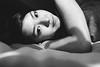 Comfort Zone (quenniehenriette) Tags: blackandwhite selfportrait asian filipino