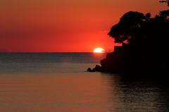. . . Still going . . . (craigsanders429) Tags: sunsetphotography sunsets sunset water sun greatlakes lakeerie lakeerieinohio catawbaisland catawbaislandstatepark red orange lakes ohio