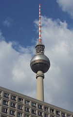 Fernsehturm Television Tower - Berlin (Gilli8888) Tags: germany berlin tourists buildings architecture tower televisiontower fernsehturm alexanderplatz