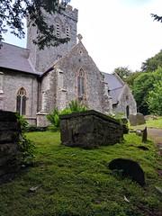 St Martin's, Laugharne (deadmanjones) Tags: stmartinschurch laugharne graveyard cemetery churchtower