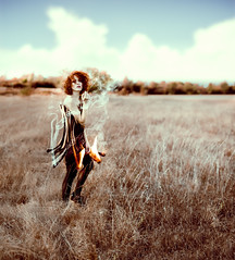 L'allumeuse. (tooga1) Tags: allumeuse allumette feu fire fume smoke girl ginger redhead rousse rredhair redhair matches outdoor photoshop montage nikon d750 creation fineart portrait women woman lea fery leafery tooga photo retouche