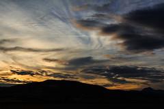 Puy de Dme (lyrks63) Tags: sunset puy de dome auvergne coucher soleil sky ciel nuage cloud clouds
