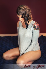 Lady J (jasoncstarr) Tags: boudoir sexy hot gorgeous beautiful stunning sexual sensual girl woman female tattoos tatts ink inked sleeve canon canoneos6d lingerie undies panties owltattoo owl hair eyes eyelashes undercut hairextensions armidale