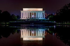 Lincoln Memorial (jhonsach) Tags: lincoln memorial washington nikon d610 fx night noche dc capital monumentos