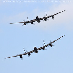 3647 2 Lancaster (photozone72) Tags: lancaster avro 2lancsuk cwhm bbmf rafbbmf portrush airshow warbirds wwii bomber aviation airshows aircraft props canon canon100400mmf4556l 7d