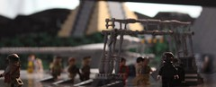Rogue One: A Star Wars Story (ABS doohickies) Tags: rogue one star wars lego jyn rebel base yavin