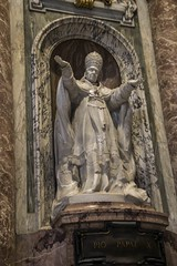 Pope Tomb (noname_clark) Tags: italy rome vacation honeymoon vatican basilica tomb marble pope sculpture