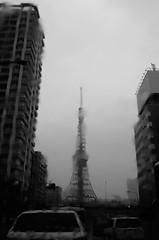 L1020045 (Zengame) Tags: leicat architecture cc cloud cloudy creativecommons illuminated illumination japan landmark leica summicron summicron235 tokyo tokyotower tower  235   t        jp