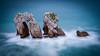Ethereal... (TanzPanorama) Tags: nature rock rockformation spain northernspain cantabria seascape waterscape europe europa tanzpanorama sonya7ii sonyilce7m2 fe1635mmf4zaoss fe2470mmf4zaoss sel1635z sel2470z zeiss ndfilter 10stopnd haidapro30 haidapro10 longexposure ng cantabriansea coast costa costacantabrica liencres pielagos erosion sea water stone atlantic bayofbiscay ethereal