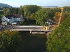 DJI_0523 (fotofrost www.rembrandtflights.de) Tags: bad freienwalder brcke pyrmont luftaufnahmen baustelle