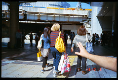 Untitled,  Clothilde BL/Lost In Transition (Lost In Transition Project) Tags: lostintransition ricoh ff9 kodak film photography street streetphotography pointshoot argentique color city urban people osaka japan analog e100gx