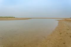 Solitude 3 (stevefge) Tags: dunkirk france landscape coast beach sand sea estuary people women oyeplage laflaqueauxoies reflectyourworld