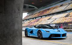 Baby Blue. (Alex Penfold) Tags: ferrari laferrari baby blue light supercar super car cars autos alex penfold 2016 shanghai china