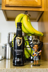 Guinness (Rich Road) Tags: obama bottleopener bananas kitchencounter ukelele obamafigurine guinness