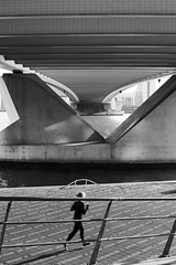 Rotterdam Impressions (g e r a r d v o n k ) Tags: artcityart art architectuur architecture blackandwhite canon city canon5d3 expression eos europe flickrsbest fantastic flickraward grey holland lifestyle ngc newacademy nederland outdoor photos people reflection rotterdam stad street summer this travel unlimited uit urban whereisthis where brug bridge yabbadabbadoo