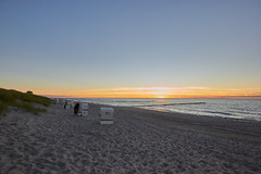 Ahrenshoop (Basel101) Tags: darss ostsee deutschland strand sonnenuntergang sommer