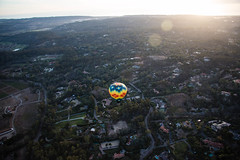From above (photosic_kw24) Tags: hot air balloon arial delmar california sandiego mansion mansions