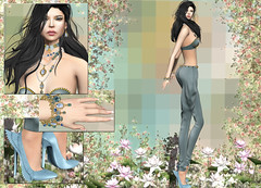 monso - My Hair Zuyu (Rehana Seljan (Japan)) Tags: secondlife sl fashion rehana rehanaseljan newrelease uber deaddollz chopzuey phedora sanarae monso kustom9 posesion