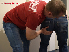 self3158 (Tommy Berlin) Tags: men jeans levis butt ass ars