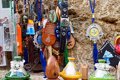 Moroccan Souvenirs (jeremyvillasis) Tags: grottesdhercule herculescave tangier tanger morocco maroc cave travel northafrica africa atlantic ocean tagine leather keychain souvenir
