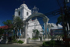 Church, Pagsanjan, Laguna, Philippines (ARNAUD_Z_VOYAGE) Tags: islands island philippines landscape boat sea southeast asia city people volcano amazing asian moutains sunset street action cars jeepney tricycle architecture river tourist capital town municipality bangkeros filipino filipina