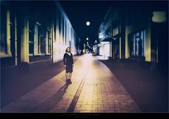 Film Noir XI (Passie13(Ines van Megen-Thijssen)) Tags: filmnoir filmnoirmood film noir mood city cityscape night nightscape woman portrait fineart canon sigma35mmart weert limburg netherlands inesvanmegen inesvanmegenthijssen