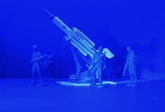 Freedom has a price...La libert a un prix (Bob (sideshow015)) Tags: military tabletop nikon p900 dinky toys jouets