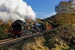 Light Engine to Kidderminster 2 (D1059) Tags: 4566 7812 smallprarie manor greatwesternrailway gwr britishrailways 262t 460 erlestokemanor severnvalleyrailway svr foleypark kidderminster