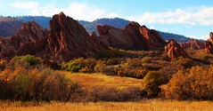 Roxborough State Park (Circled Thrice) Tags: roxborough roxboroughstatepark statepark park fall autumn fallcolor meadow rocks sandstone landscape colorado co canon eos rebel t3i sigma