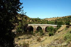 Barrancos (Antnio Jos Rocha) Tags: portugal alentejo barrancos ponte pipa rio ribeira mrtega gua natureza rvores campo