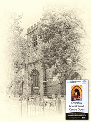 All Saints Church Daresbury (planetreeimages) Tags: daresbury lewiscarroll church
