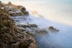 elemental border (koaxial) Tags: pb240604a1jpg koaxial water earth rocks felsen wasser langzeit long exposure licht light shadow schatten