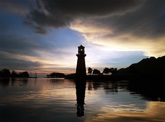 190451oa - Copy (www.linvoyage.com) Tags: yachting sunset sky    lighthouse     langkawi   cloud sail trip  travel  summer outdoor mountain landscape sea