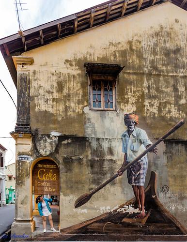 Street Art, George Town, Penang Malaysia.
