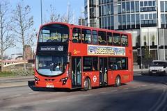 Go-Ahead London subsidiary London Central Wright Eclipse Gemini 2 bodied Volvo B5LH (WHV10 - LJ61 GXH) 436 (London Bus Breh) Tags: goahead goaheadgroup goaheadlondon londoncentral thewrightgroup wrightgroup wrightbus wright wrighteclipsegemini2 gemini2 volvo volvobus volvob5l volvob5lh volvob5lhybrid hybrid hybridbus hybridtechnology whv whv10 lj61gxh 61reg london buses londonbuses bus londonbusesroute436 route436 battersea vauxhall nineelmslane tfl transportforlondon