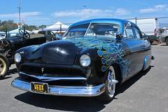 52nd Annual LA Roadsters Show (USautos98) Tags: 1951 ford shoebox hotrod streetrod kustom flames rockabilly