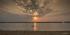 Sunset at Jazan beach (mlahsah) Tags: sea بحر بحرجازان nikond750 nikon ngc jazan sa ksa السعودية غروب sunset