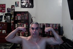 MUSCLE FLEX! (Jonathan C. Aguirre) Tags: biceps muscles muscle flexing arms armfetish guns big strong sexy photobooth