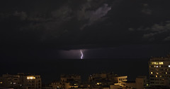 lightning off Malta (neilalderney123) Tags: 2016neilhoward olympus malta lightning storm night water