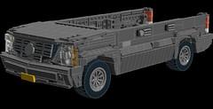 Cadillac Escalade GMT800 [WIP 2] (Alice_2chevskaya) Tags: ldd lego 16wide car