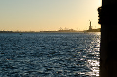 Lady Liberty   11.09.2016 (BrainNY08) Tags: statue statueofliberty newyork newyorkcity manhattan nikon nikond7000 sunset