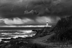 Portland ME (wenzeluo) Tags: maine portland landscape blackandwhite bw lighthouse